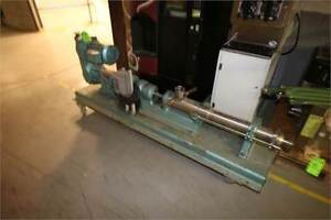 Moyno 3 Hp Progressive Cavity Pump 2 5 Inch Treaded Inlet And Outlet