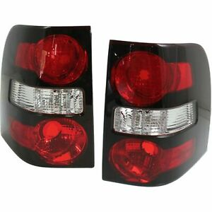 Fit Ford Explorer 2006 2010 Taillights Rear Lamps Lights New Pair Set