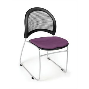 Moon Stack Chair Plum