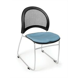 Ofm Moon Stack Chair Black