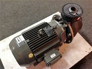 Scot 15 Hp Stainless Centrifugal Pump Mp 243 Series Used Only 40 Hrs 230 460v