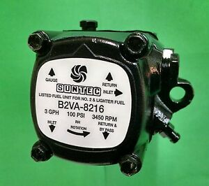 Suntec B2va 8216 Oil Burner Pump One Year Warranty Beckett Wayne 18341