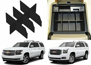 Center Console Organizer For 2015 2018 Suburban Tahoe Yukon New Free Shipping