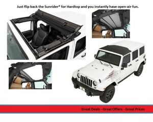 Bestop Sunrider Black Diamond For 07 18 Jeep Jk Wrangler 2 4 Door 5245035
