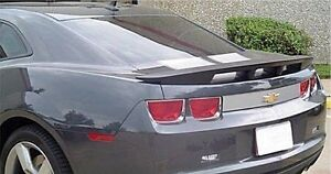 Un painted 4 post Spoiler sawtooth style For 2010 2013 Chevrolet Camaro Cpe