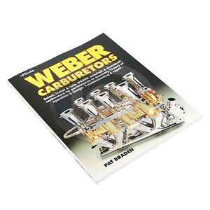 Weber Carburetors Book Manual Repair Install Tune Trouble Ac000803