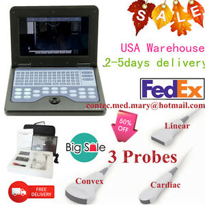 Ce Portable Diagnostic Machine Ultrasound Scanner Ultrasonic Cms600p2 3 Probes