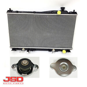 New Radiator With Cap For 2001 2002 2003 2004 2005 Honda Civic 1 7l Cu2354