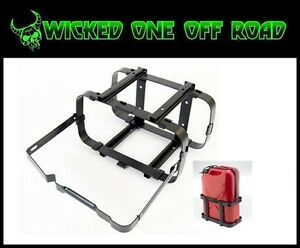 Smittybilt Jerry Gas Can Holder With Lockable Top Strap 2798