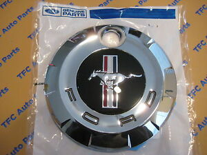 Ford Mustang Rear Trunk Gas Cap Emblem Cover Deck Lid New Genuine Oem 2005 2009