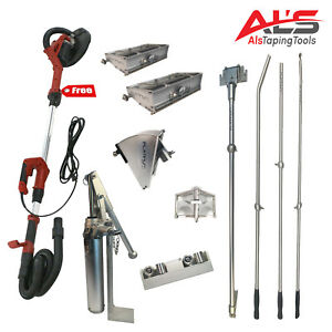 Platinum Starter Set Of Automatic Drywall Taping Tools W Free Power Sander