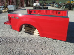 2017 Ford Super Duty F250 F350 Truck Bed Complete Brand New Race Red Aluminum