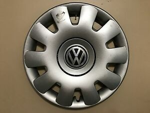 Vw Volkswagen Jetta Golf 15 Genuine Oem Hubcap Wheel Cover 1j0 601 147 P Oem