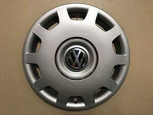 1998 01 Vw Volkswagen Passat 15 Genuine Hubcap Wheel Cover 3b0 601 147 D Oem