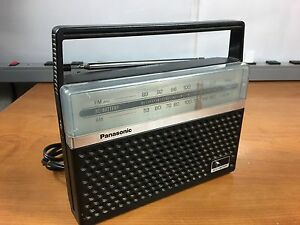 Panasonic Rf 546d Am fm Portable Radio Works Great With 2 Months Warranty