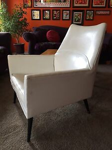 Rare Mid Century Modern Paul Mccobb Vinyl Squirm Lounge Chair Eames Angular Club
