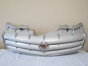 2005 2006 2007 05 06 07 Cadillac Sts Base Front Upper Radiator Grille Mesh Oem