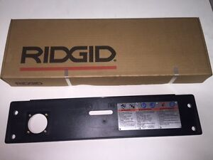 Ridgid 1224 Pipe Threader Front Cover Switch Mnt Warning Plate 711 714 Die Head
