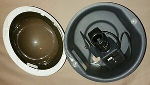 Pelco Df5 0 In ceiling Dome W Ccc1370h 2 High Resolution Fixed Ccd Camera