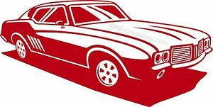 Oldsmobile 442 Gm Vinyl Decal Your Color Choice Sticker
