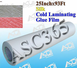 Silk Pattern 0 69x31yard Adhesive Cold Laminating Film Laminator Free Shipping