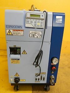 Ebara Esr200wn Multi stage Dry Vacuum Pump Esr Series Tested New Surplus