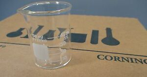 Corning Pyrex 1000 50 Glass 50ml Graduated Low Form Griffin Beaker 12 Pack