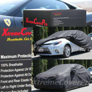2017 2018 2019 Toyota Corolla Im Hatchback Breathable Car Cover Blk W mirrorpock