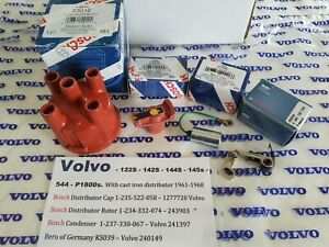 Volvo 544 122s P1800 Engine Tune Up Kit Oem Bosch B18 Eng W cast dist