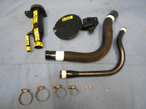 97 98 Jeep Grand Cherokee Fuel Gas Tank Filler Tube Pipe Hose Door