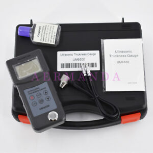 Ultrasonic Thickness Gauge Um6500 1 0 245mm 0 05 8inch Thickness Meter Tester