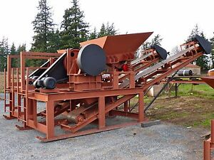 Jaw Crusher Module 10 X 16 20hp For Concrete Rock Quartz Etc 5 20 Tons hr