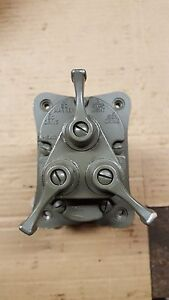 Jeep Willys M38 M38a1 Early 2 Plug 24 Volt Light Switch Assy Nos M37 M Series