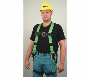 Miller Full Body Construction Harness L xl 400 Lb Back Side D ring 650t 7 ugk