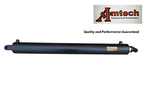 Hydraulic Cylinder 3 bore X 30 stroke X 39 Retracted Tang Cross Trailer