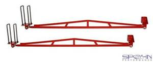 Extreme Duty Rear Traction Bars 1994 2002 Dodge Ram 3500 4x4 With Towing Pkg