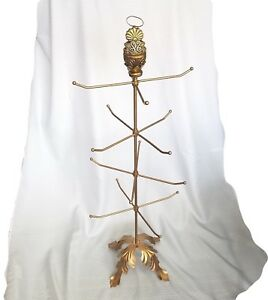 Professional Display Stand Necklace Jewelry Tree Eight Manual Rotating Arms