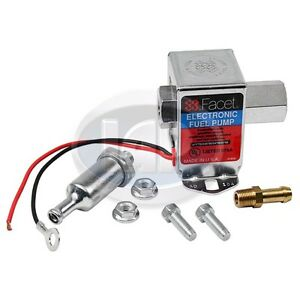 Facet 12 Volt Electric Fuel Pump Vw Bug Bus Ghia Buggy Ac127200
