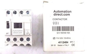 New Automation Direct Gh 15cn3 10a Contactor