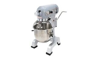 Planetary 20 Qt Mixer With 3 Attachments And Hub