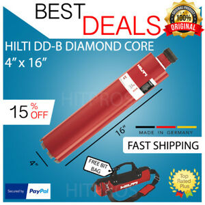 Hilti Dd b 4 X 16 Hcs Diamond Core Bit New Free 12v Driver Fast Ship