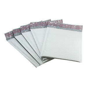 Rok 250 Pack 6 X 9 Shipping Gray White Envelope Poly Padded Bubble Mailers 0