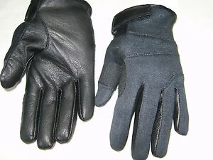 TACTICAL KEV-LAR CUT RESISTANT SWAT POLICE DUTY SEARCH SHOOTING GLOVES S-M-L-XL
