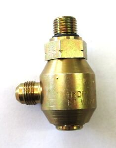 Ss 15 90503 08 08 Hydraulics Inc Swivel 1 2 Male O ring Boss X 1 2 Male J