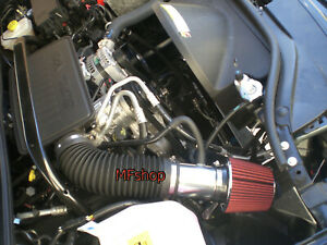 Red For 2005 2007 Jeep Grand Cherokee Commander 3 7l 4 7l V8 Air Intake Kit