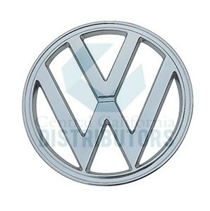 Emblem Chrome Front 317mm 12 48 vw Fits Vw Type2 Bus 1950 1967 211853601a