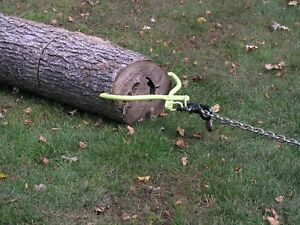 Tongs Swivel Skidding Steel Forester Heavy Duty Wood Log Timber Grab Dragging