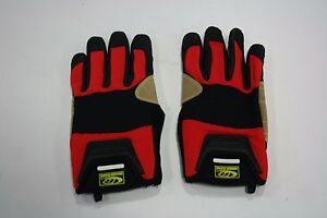 Ringers Rope Rescue Gloves Black red Large 355 10