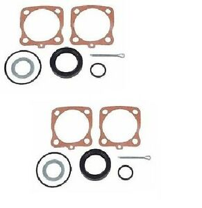 Vw Bug Bus Ghia Rear Axle Seal Kit Left Right Pair Set Of 2 111598051a