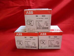 Abb F364 63 0 03 Residual Current Operated Circuit Breaker 63amp Din Rail 3 p